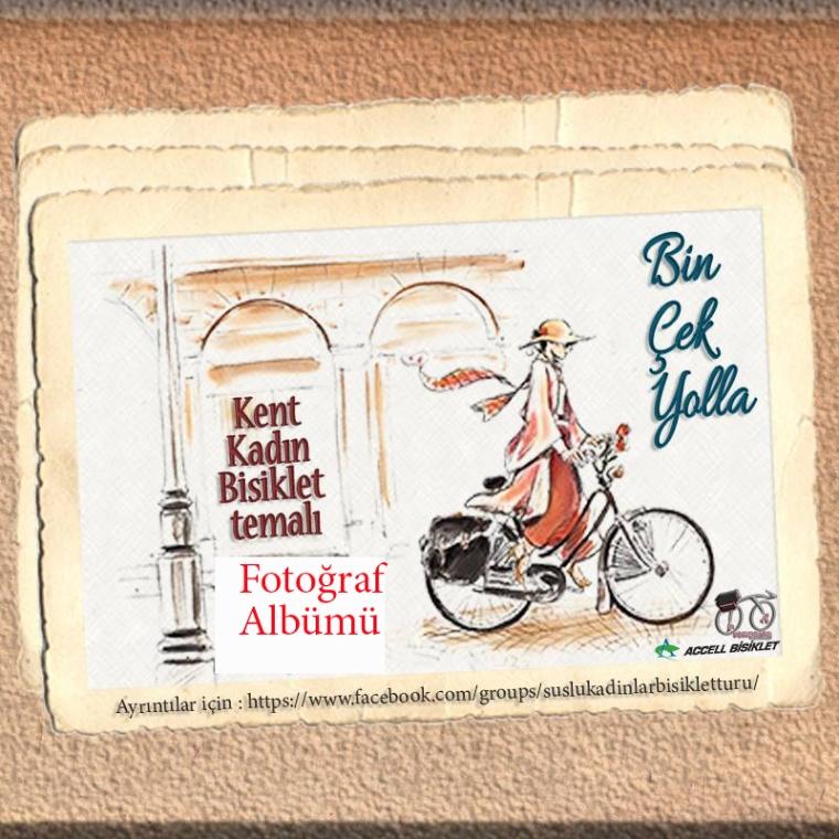 Bisikletli Kadınlar Fotoğraf Albümü