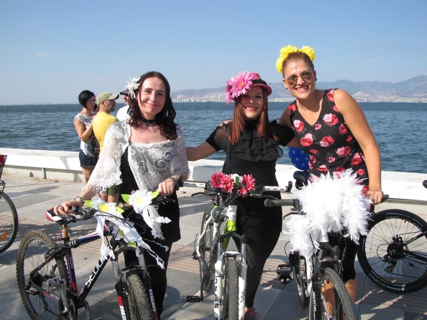 süslü kadınlar bisiklet turu 2014