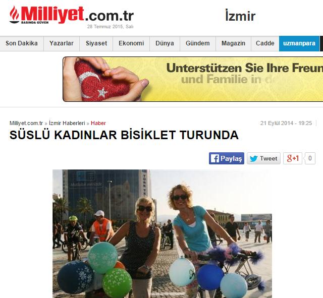 süslü_kadınlar_bisiklet_turu_gazete_haberi