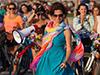 sema gur suslu kadınlar bisiklet turu
