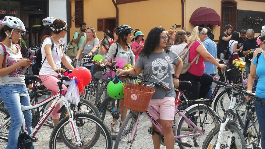 eskisehir suslu kadınlar bisiklet turu 1