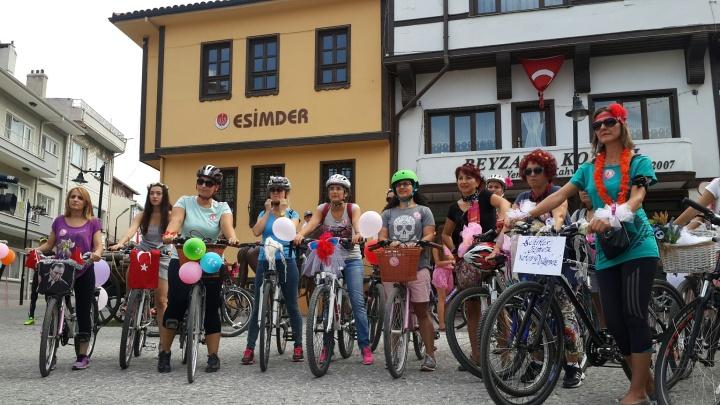 eskisehir suslu kadınlar bisiklet turu 2