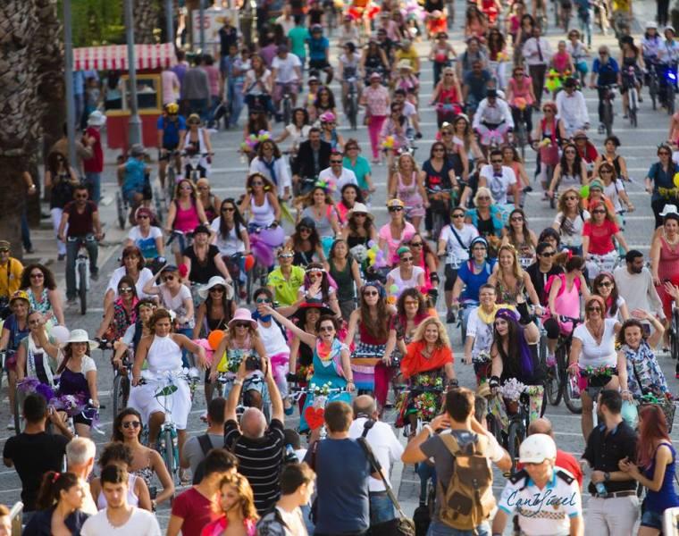 Süslü Kadınlar Bisiklet Turu 2014 İzmir