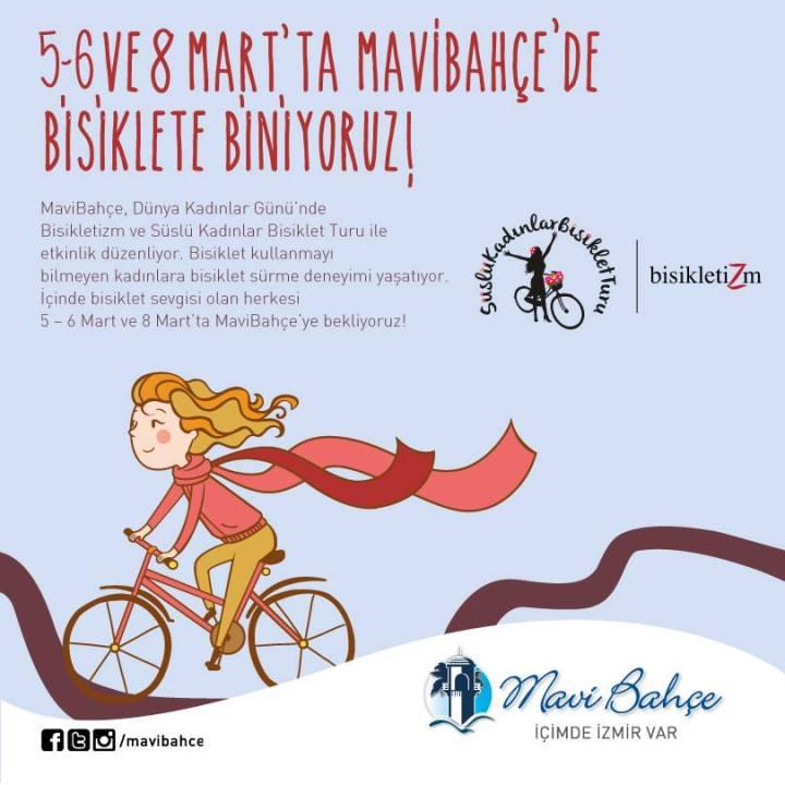 bisiklet surus egitimi suslu kadinlar bisiklet turu