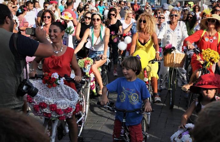 bodrum bisikletli kadınlar