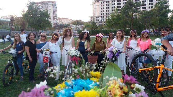 kirikkale bisikletli kadinlar